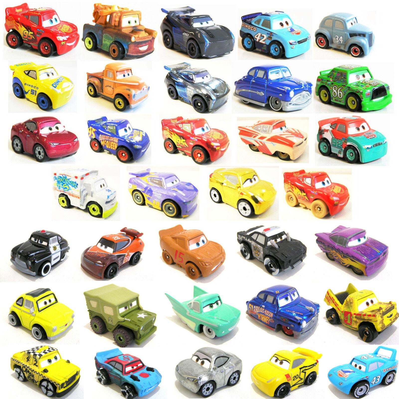Disney - Cars 3 - Mini / Micro Racers - Mattel - Alle 103 Racer
