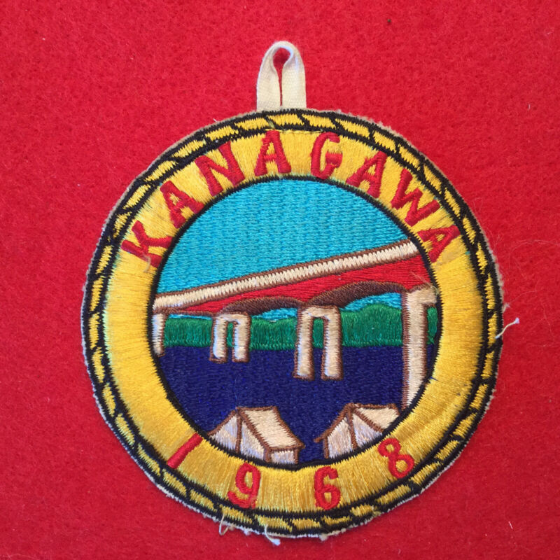 Boy Scout 1968 Kanagawa Patch Japan