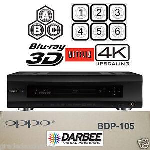 oppo digital bdp 105d darbee edition multi region code