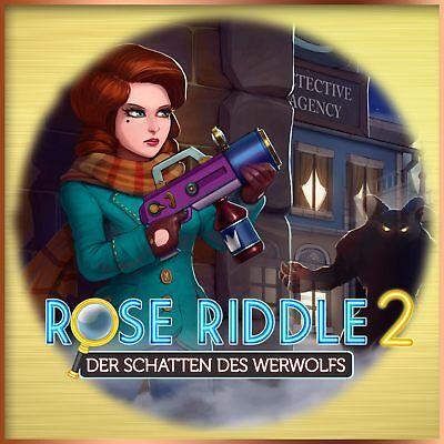 ⭐️ Rose Riddle 2 - Der Schatten des Werwolfs - PC / Windows - BLITZVERSAND ⭐️ (Rose Windows)