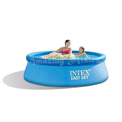 New Intex Easy Set Inflatable Swimming Paddling Pool 8 Ft Pool