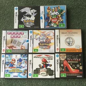 Nintendo DS Games - 29 Available Gembrook Cardinia Area Preview