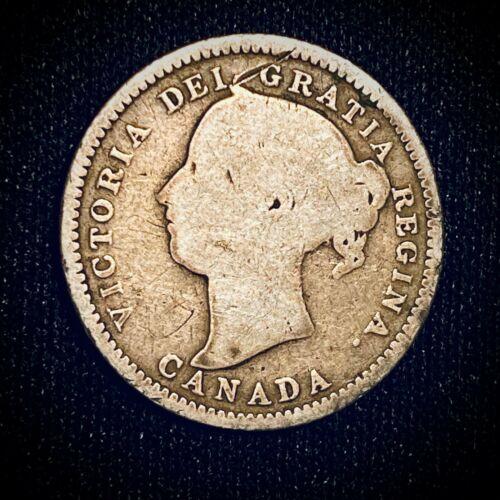 1886 Victoria Canadian Dime 10C