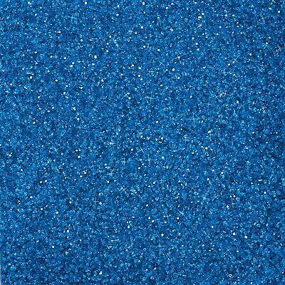 1 kg GLITTER - GLASSAND Dekosand Glas Sand Glitzer Glassand EUROSAND - BLAU