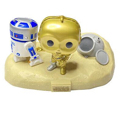 Funko Pop Star Wars Movie Moments Walmart #222 Escape Pod Landing R2D2, C3PO