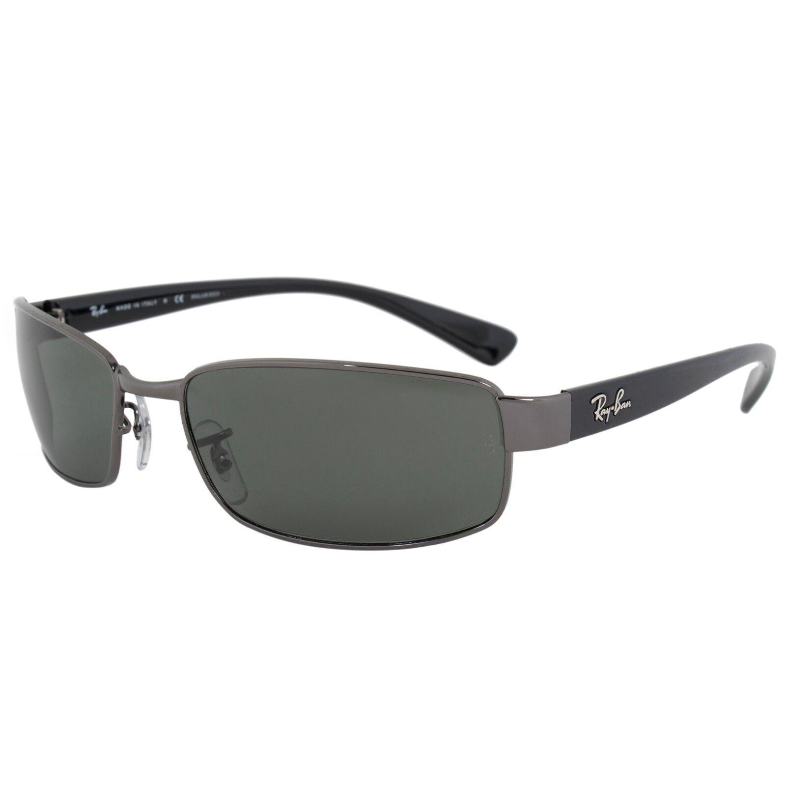 1b4841081b6 ... Gunmetal Black Rectangular UPC 805289161110 product image for Ray Ban  Rectangle Sunglasses Rb3364 004 58 59 Pol