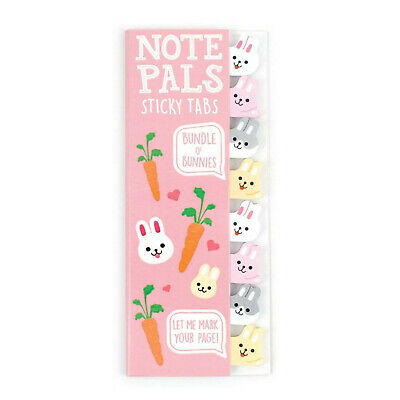 Ooly Note Pals Sticky Tabs Bundle O Bunnies