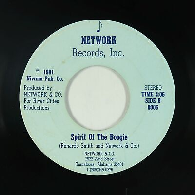 Modern Soul Funk 45 - Network & Co. - Spirit Of The Boogie - Private - mp3