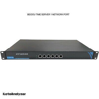 Network Time Server NTP 1 Ethernet Port for GPS Beidou GLONASS Galileo QZSS 5V
