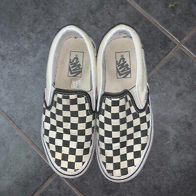 Checkerboard Vans Uk Size 6