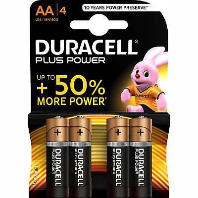 4 Duracell Aa Alkaline Batterien (4 x Batterien Duracell 017641, Mignon AA / LR6 Alkaline Plus Power 1,5V 4er Pack)