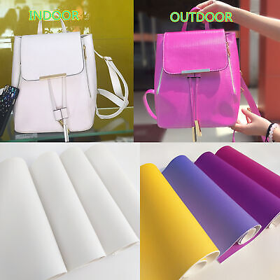 UV Light Reactive Colour Changing Photochromic Leather Fabric Bag Bows Craft