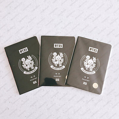 BTS X CGV NEW BT21 OFFICIAL Limited Special Passport, Free Shipping+Tracking