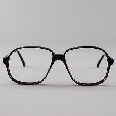 80s Vintage Glasses | Dark Tortoiseshell Eyeglass Frame | 1980s (1980 Glasses)