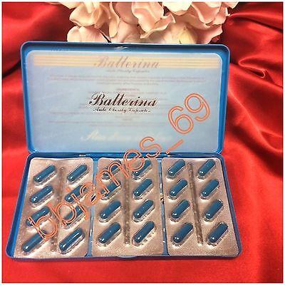 3 Packs Of Ballerina Slimming Capsules Anti Obesity Diet Pills Lose Weight Slim