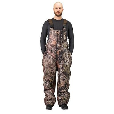 - Men's Insulated & Waterproof Camo Bib Overalls Mossy Oak Pattern-hunting-hiking