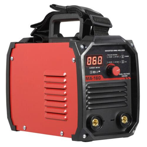 110V 220V DC Inverter Welder Mini Handheld Arc Welding Machine MMA 60-160A IGBT Business & Industrial