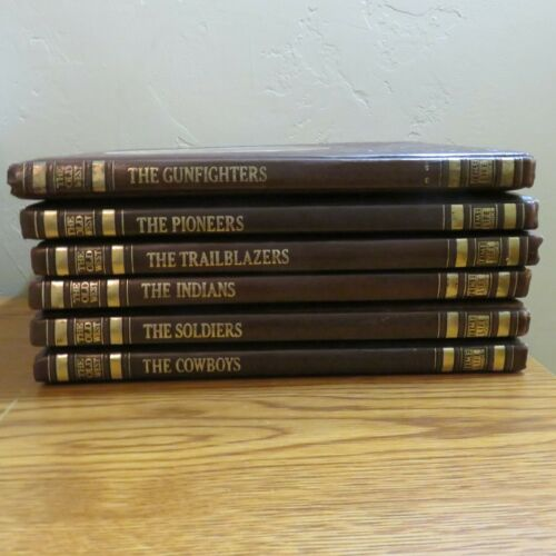 Time Life the Old West Hardcover Book Set 6 Volumes
