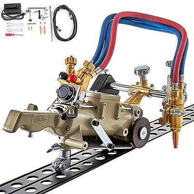 Track Torch Burner Cutter 6-30mm Portable Gas Cutting Machine 110v 2x1.8m Track
