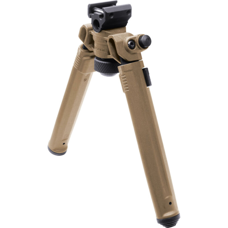 Magpul Industries Bipod Hard Anodized 6061 T-6 Fits 1913 Style Picatinny Rails