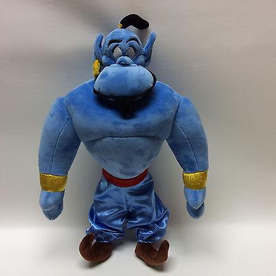 Disney Aladdin Genie Plush   Disney Store 18  Blue Genie Doll   Genie Toy