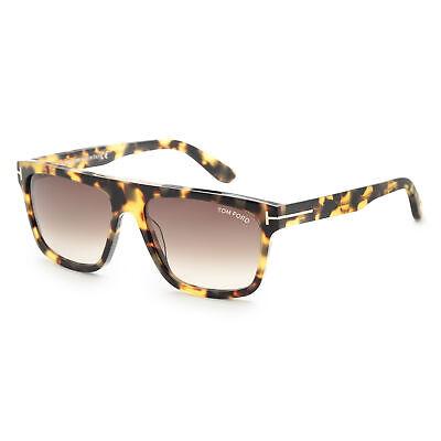Tom Ford Men's Cecilio FT0628-56K 57 Gradient Roviex Lens (Ford Sunglasses Tom Ford)