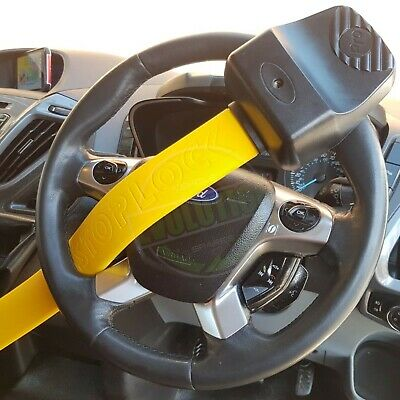 UKB4C Steering Wheel Lock High Security Anti Theft Twin Bar for Ford Kuga All Years