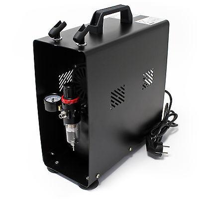 Airbrush Kompressor AF189A Lufttank Einzylinderkolbenkompressor 6 bar