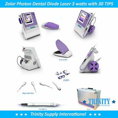 Diode Laser Dental 3 Watts Compl.set. Unbeatable Warranty. Versatile Low Price