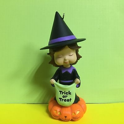 Hallmark Keepsake Ornament Sweet Trick Or Treater Marys Angels Halloween No Box - Halloween No Trick Or Treaters