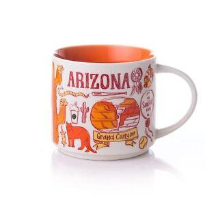 New Starbucks Arizona Been There Series Coffee Mug Tea Cup 14 Oz YAH