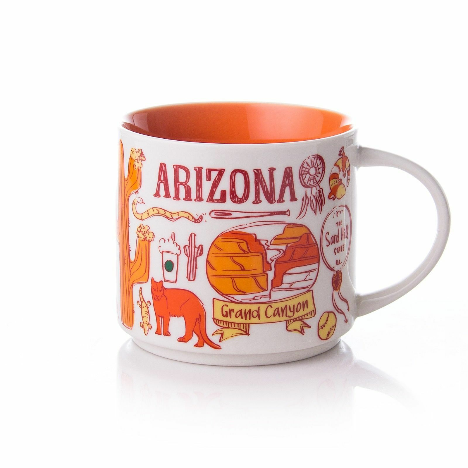 New Starbucks Arizona Been There Series Coffee Mug Tea Cup 1