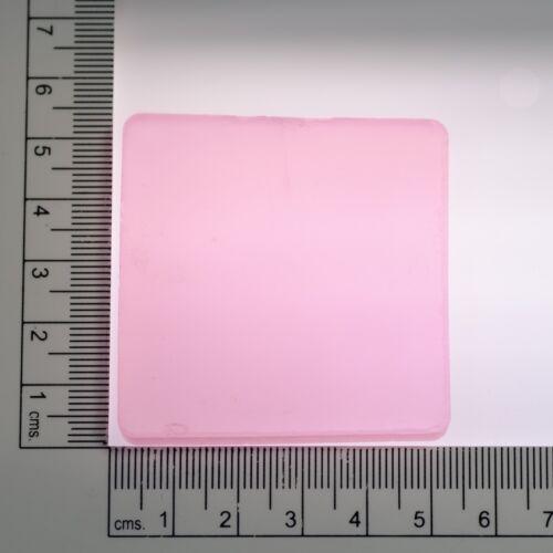 79.7-80g 1p Pink Morganite Garnet (YAG Ceramic) Lab Created Faceting Rough Stone