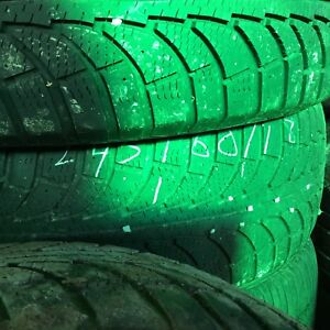Winter tires for sale 150 dollars.       275-65-18