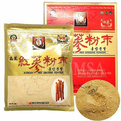 PURE 100% Korean Red Ginseng Powder 300g (10.58 oz) panax ginseng, insam
