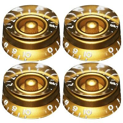 4 Nickel Knob Pointers for Vintage Gibson® Guitar//Bass EP-0077-001