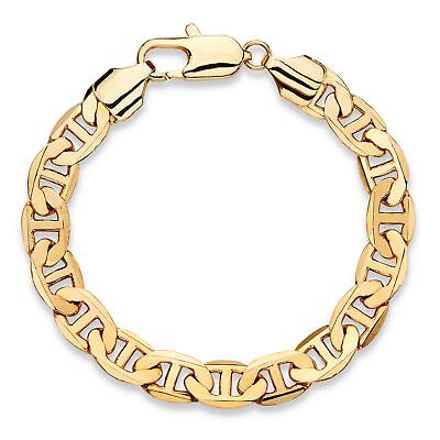 "Men's Mariner-Link Gold Ion-Plated Classic Bracelet 8"" (8.5mm)"