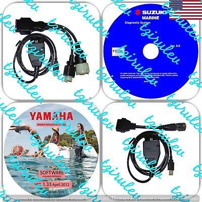 USA Seller Yamaha YDS & Suzuki SDS Outboard Diagnostic Kit/ Jet Boat/ WaveRunner
