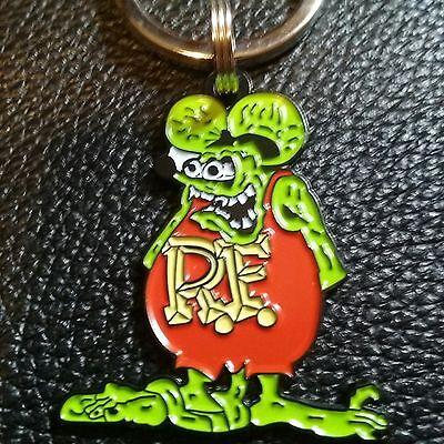 Classic rat fink (metal) keychains