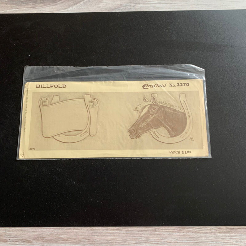Vintage Tandy Leather Craftaid #2270 Horse Horseshoe