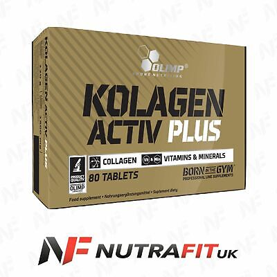 OLIMP KOLAGEN ACTIV PLUS 80 TABS collagen vitamins minerals bones sport edition