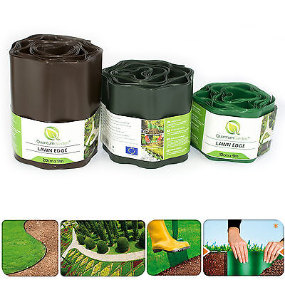 PLASTIC GARDEN GRASS LAWN EDGE EDGING BORDER ...