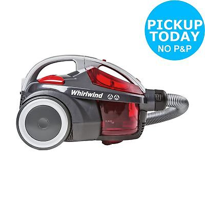 Hoover SE71WR01001 Whirlwind Bagless Cylinder Vacuum Cleaner 1.5L Red