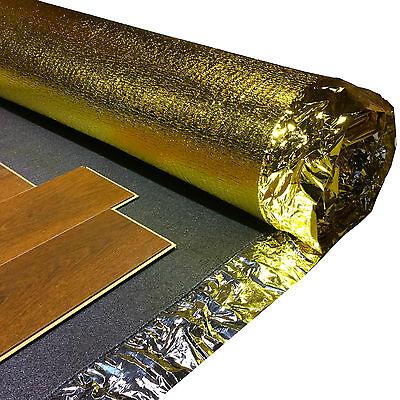 5mm Sonic Gold Acoustic Underlay Wood Laminate