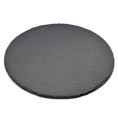 Slate Pizza Serving Plate. Grey Antipasti Food Drinks Serving Party Platter