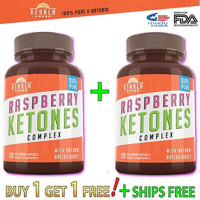 1+1 Bulk GREEN COFFEE Bean Extract Raspberry Formula  Keto Diet Pill Best