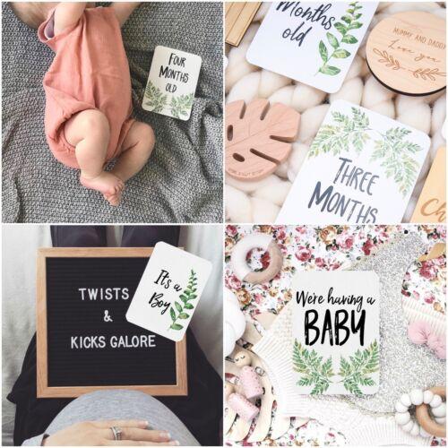 Milestone Cards - Baby Milestones - Pregnancy Milestones - Milestone Cards - Set