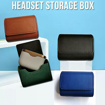 For Sony WF-1000XM3 Wireless Headset Earphone Leather Case Cover Storage Box