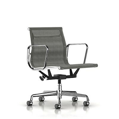 Authentic Herman Miller Eames Aluminum Group Management Chair Dwr