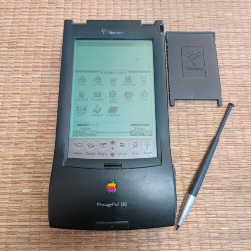 Apple Newton MessagePad 130 H0196 with stylus - TESTED WORKS!!!!